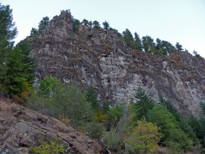 Coal Creek Rd cliffs
