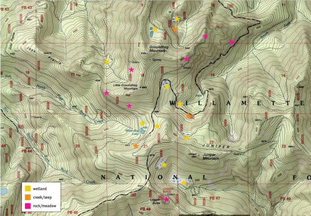Groundhog Site Map
